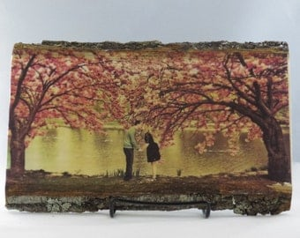 Your Custom Photo on Wood, Basswood Country Plank