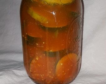 Sriracha Dill Pickles - 1 Quart (32 oz) jar