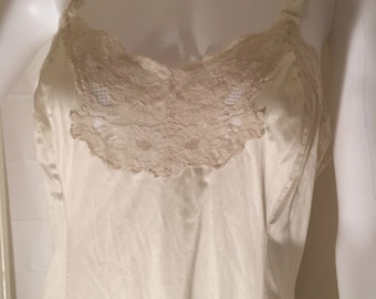 Gorgeous Vintage Wonder Maid Full Slip Ivory Off White 36