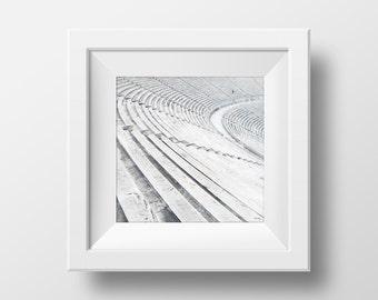Ancient Greek Marble Stadium - Photo Art Poster