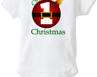 Babies first Christmas Iron On transfer Personalized shirt DIY Digital Christmas bulb first christmas transfer xmas transfer