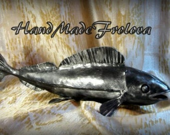 Metal Art, Exclusive, forged paintings, high quality, interior design, forging,fish, forged fish