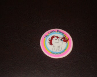 FREE SHIPPING! Vintage G1 My Little Pony Sticker Moondancer