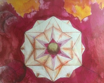 Moonflower, original artwork