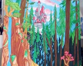 Castle of la Belle et la bête.