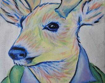 Original Painting - Mr. Deer