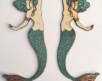 Mermaid Wall Decor (Set of 2)