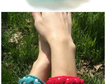 Womens gift for her Turquoise bracelet cotton bracelet hand knit bracelet freshwater pearls bracelet river pearl jewelry crochet jewelry