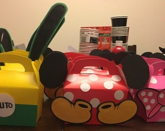 Mickey Mouse Clubhouse Treat Boxes