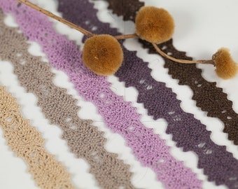 Noble Torsion Lace 16 mm, 3 meter - 3,27 yards or 9,84 feet, 5 colours available