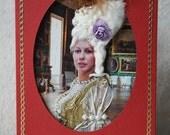 Greeting card - personalised, unusual, fun, unique, 3D, birthday gift. Random historic fashion. A6.
