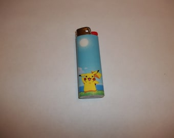 Custom Pokemon Pikachu Waving Lighter