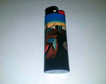 The Persistence of Memory by Salvador Dali Custom Lighter
