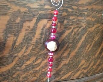 Buckeye Ornament (A16)