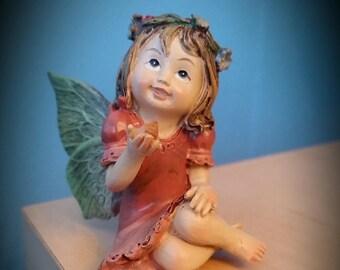 Fairy Child wearing Pink