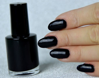 Black nail polish 10ml
