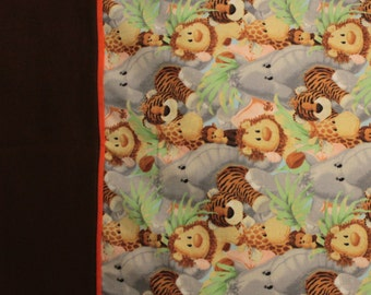 Pillowcase - Jungle Theme Standard Size Pillowcase