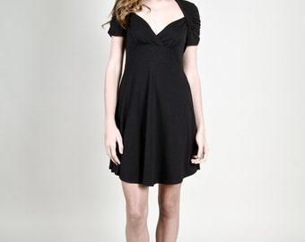 Black Modal Jersey  - Mika Dress
