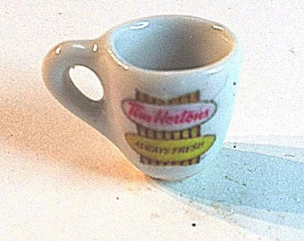 Miniature Tim Horton's Coffee Mug (CER004)