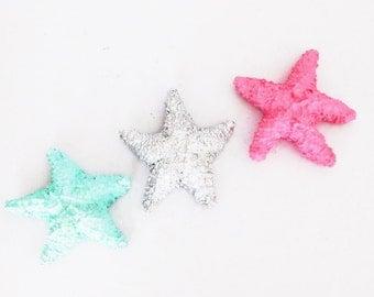 Starfish, Set of 3, Faux Starfish, Beach, Coastal Decor, Ocean Decor, Marine Decor, Beach Decor, Coastal, Coral Reef Decor, Starfish, Ocean,