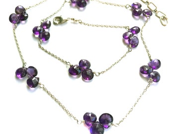 Amethyst Necklace--Amethyst Jewelry
