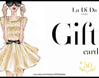 Gift cards, Gift vouchers, haute couture, Gift, custom made to measure