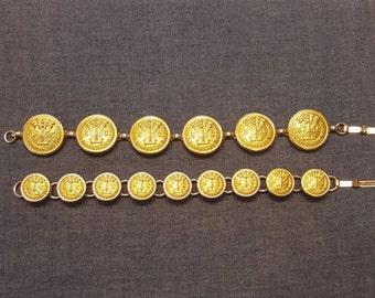 Citadel Uniform Button Bracelet