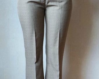 Women's Brown Trousers, Women's  Pants, Style 1970s, Size 38 EU, 10 UK