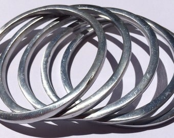 element 13 - Aluminum Bracelet - Made from Recycled Aluminum