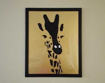 My golden giraffe
