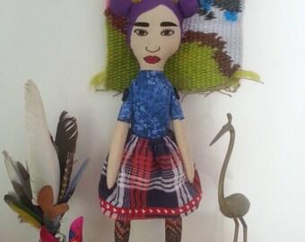 Julie - OOAK handmade doll
