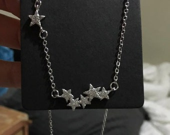 Minimalist Star Necklace, Sterling Silver Star Necklace, Simple Star Necklace, Sterling Silver Star Pendant, Minimalist Star Pendant