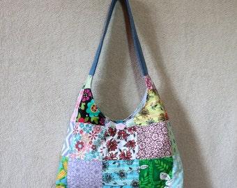Razzmatazz Handbag (Denim/Jean/Upcycled/Recycled/Repurposed/Patchwork)