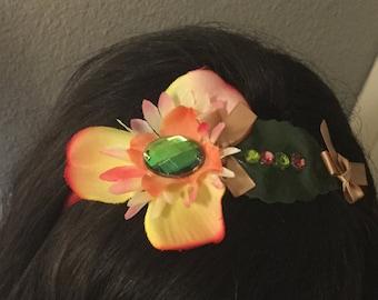 Flower headband hair ornament