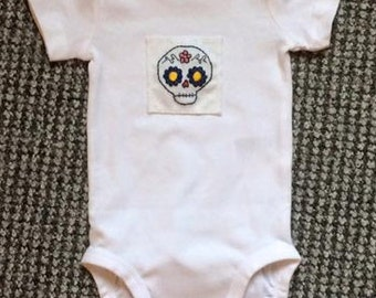Sugar Skull bodysuit