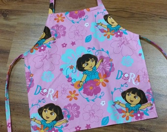 Small Childrens Apron, Girls Apron