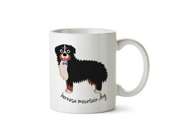 Bernese Mountain Dog Mug (boy)