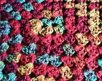 Cozy Crocheted Afghan- Adult Sized