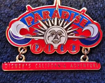 Exclusive Original Release Disney California Adventure Pardise Pier Pin