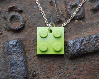 Light Green Brick Flat 2x2