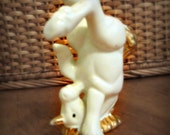 Vintage Small Silly Unicorn on its Head