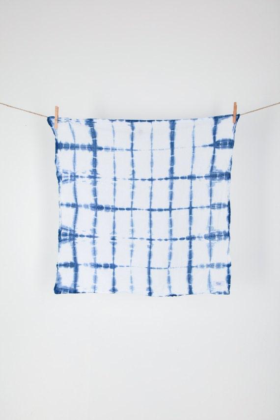 Poolside Dish Towel (Classic Shibori)