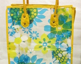 Funky Floral Beach Tote