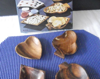 Wooden Snack Dishes