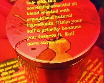Shea Butter Blend For Body&Hair. All Natural 8oz