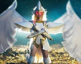 Anime Manga Angelic layer - Athena handmade cosplay costume