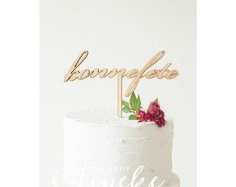 Bonnefete Cake Topper
