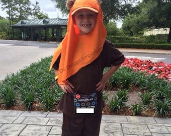 Ewok Inspired Hat - Wicket Running Costume - Adult Ewok Run Costume Cap - Kids Ewok Costume Hat - Child Cosplay Hat