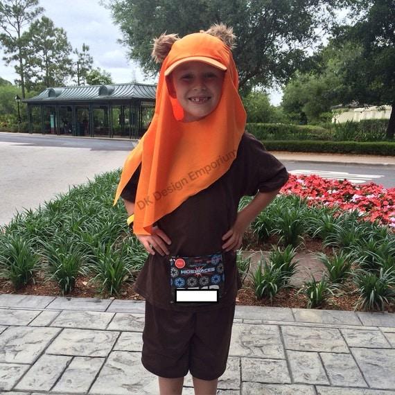 Ewok Hat: Ewok Inspired Hat Wicket Running Costume Adult Ewok Run