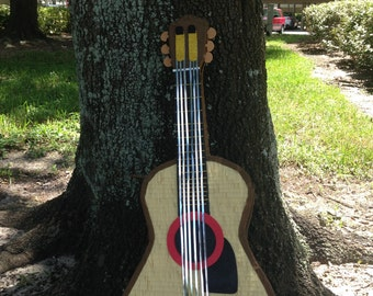 "Acustic Guitar Pinata 28 ""High. Party Decorations and Supplies"